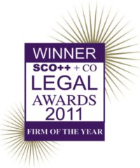 Scott + Co Legal Awards Firm of the Year